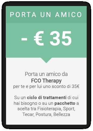 PROMOZIONI – FCO Therapy